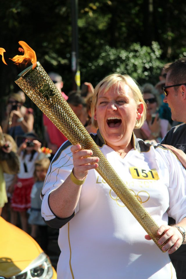 Torchbearer Jennifer Deeney London 2012